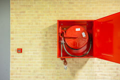 The fire hose Royalty Free Stock Photo