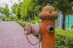 Fire Hose hydrant Stock Photos