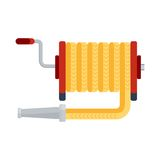 Fire hose icon Stock Photography