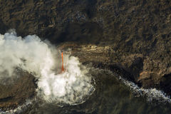 Fire Hose Lava Flow royalty free stock images