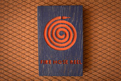 Fire hose reel sign Royalty Free Stock Photo