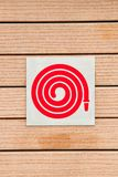 Fire Hose Symbol Royalty Free Stock Photography