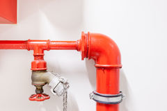Fire hose tube Royalty Free Stock Photos