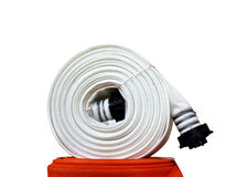Fire hose Stock Image
