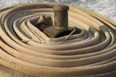 Fire hoses. Stock Images