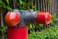 Fire hoses. Stock Photos