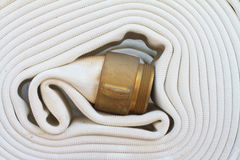 Fire hoses Stock Photos