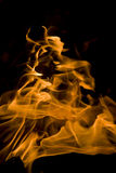 Fire, hot flames Royalty Free Stock Photo
