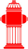 Fire Hydrant. Vector file, change the colors as you wish Royalty Free Stock Photography