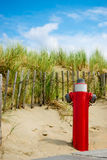 Fire hydrant. In the dunes Royalty Free Stock Images