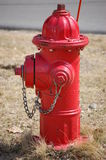 Fire Hydrant. Red fire hydrant royalty free stock photos