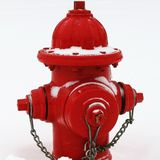 Fire hydrant during blizzard 2016 Stock Photo
