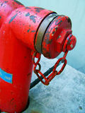 Fire hydrant close-up Stock Images