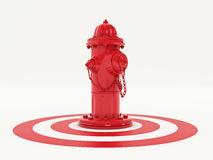 Fire hydrant. Design made in 3D Royalty Free Stock Image