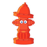 Fire hydrant. Friendly fire hydrant looking at you Stock Image