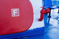 Fire Hydrant, Greek Ferry Royalty Free Stock Image