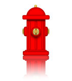 Fire Hydrant. Fire Hydrant illustration over a white background Royalty Free Stock Photography