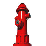 Fire hydrant. Isolated on white background Royalty Free Stock Photos
