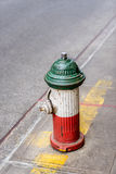 Fire hydrant in Little Italy NYC Royalty Free Stock Image