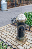 Fire Hydrant in New York City Royalty Free Stock Photos