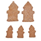 Fire Hydrant Shaped Cookies Royalty Free Stock Images