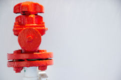 Fire hydrant on ship. Fire hydrant on a ship Royalty Free Stock Photos