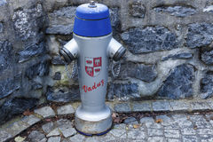 Fire hydrant in Vaduz Royalty Free Stock Photo