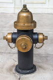 Fire hydrant vintage style in newyork Stock Photos