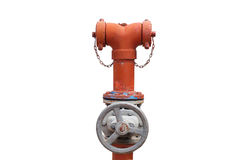 Fire hydrant. On white background Stock Image