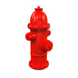 Fire Hydrant. On white background. 3D render Stock Image