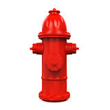 Fire Hydrant. On white background. 3D render Royalty Free Stock Images