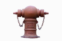 Fire Hydrant on white background. Fire Hydrant with isolated white background stock photography