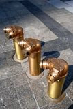 Fire Hydrants, Chicago Stock Photos