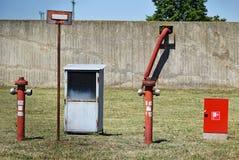 Fire hydrants Stock Photo