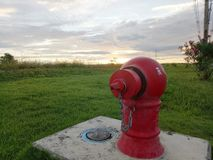 Fire hydrants. A fire hydrants is stand by for to use Stock Photography