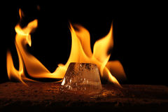 Fire and Ice Royalty Free Stock Images