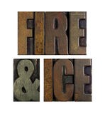 Fire and Ice Royalty Free Stock Image