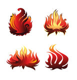 Fire Icon Stock Photos