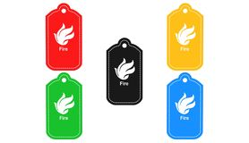 Fire,icon,sign,3D illustration. Fire,icon,sign,best 3D illustration Stock Photography