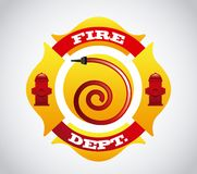 Fire icons design. Fire icons  design , vector illustration Royalty Free Stock Images