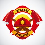 Fire icons design. Fire icons  design , vector illustration Stock Photography
