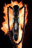 Fire idol. Royalty Free Stock Photo