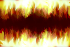 Fire ilustration texture. Stock Photography