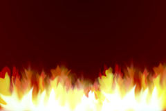 Fire ilustration texture. Stock Image
