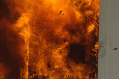 Fire image. Flame up close Stock Images