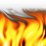Fire inferno Stock Image