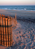 Fire Island beach entrance Royalty Free Stock Photo