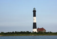 The Fire Island Lighthouse Royalty Free Stock Images