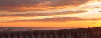Fire island sunset Royalty Free Stock Images