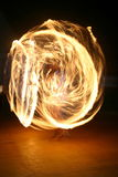 Fire juggler royalty free stock image